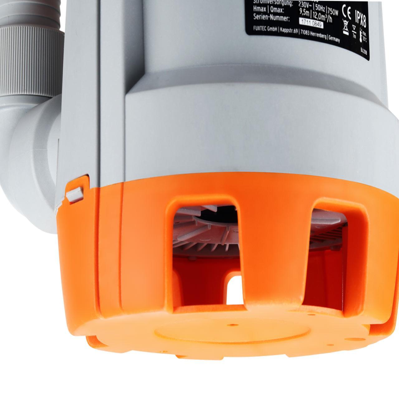 FUXTEC Tauchpumpe FX-TP1750 - 750 Watt