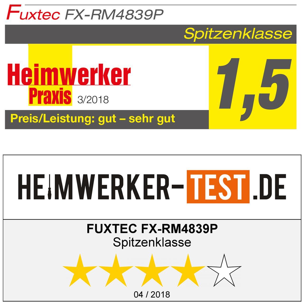 Profi Benzin Rasenmäher FX-RM4839P
