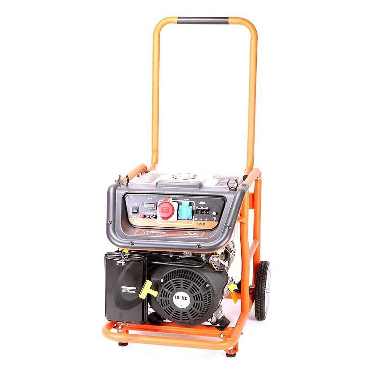 FUXTEC Stromerzeuger FX-SG7500A mit 380V Anschluss