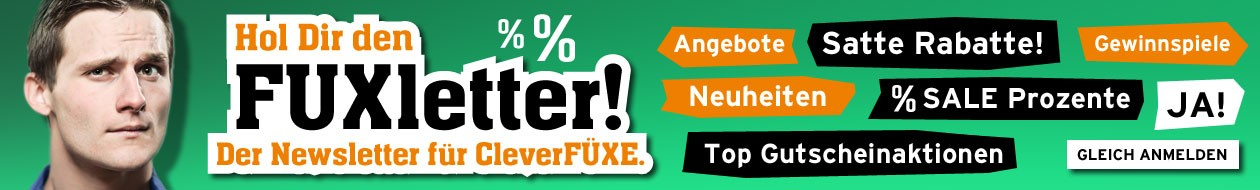 Banner für den Fuxtec Newsletter