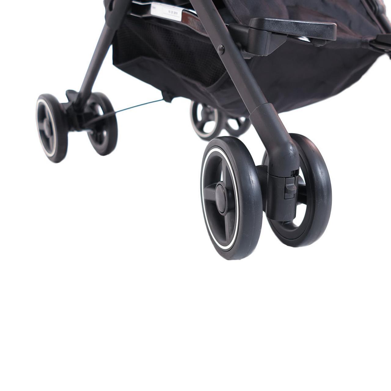 FUXTEC Buggy Kinderwagen faltbar grau FX-HD788GR
