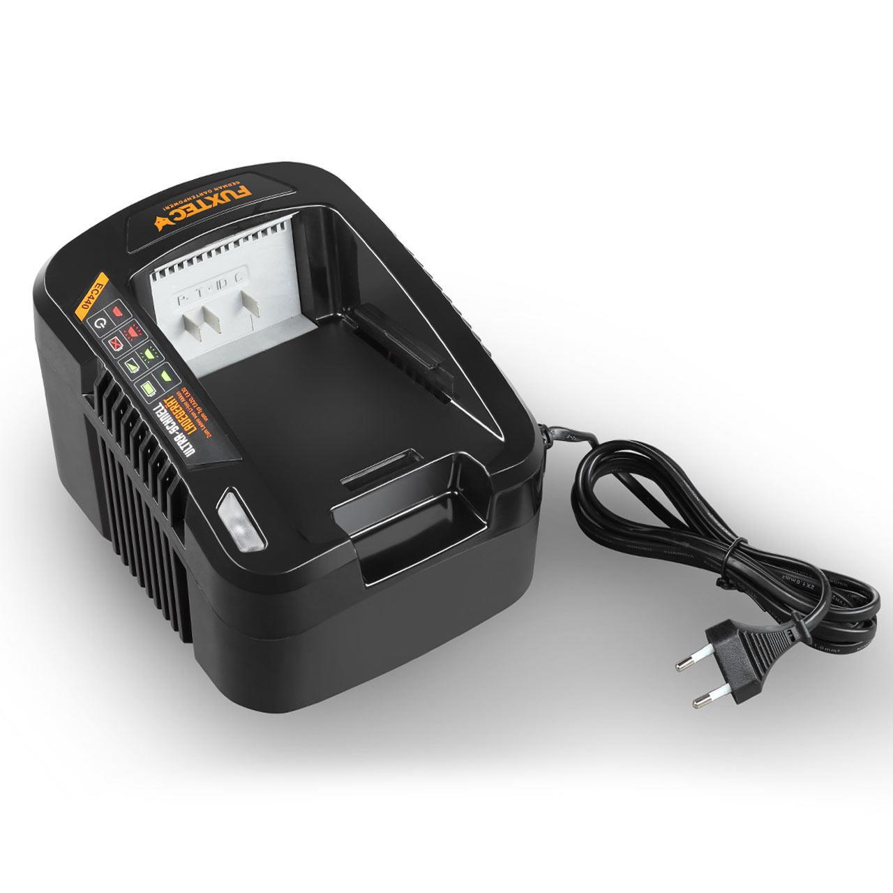 120V 3,5A Ultra-Schnell-Ladegerät EC440 FUXTEC