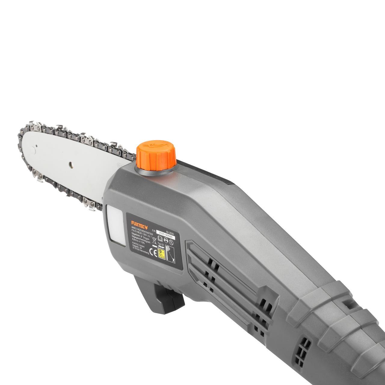 20V Akku Hochentaster FX-E1HE20 FUXTEC - ohne Akku/Ladegerät