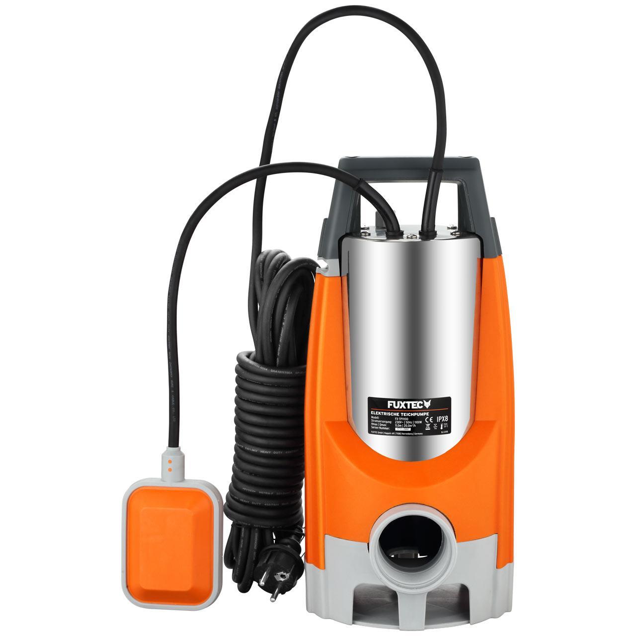 FUXTEC Tauchpumpe FX-TP11100 - 1100 Watt