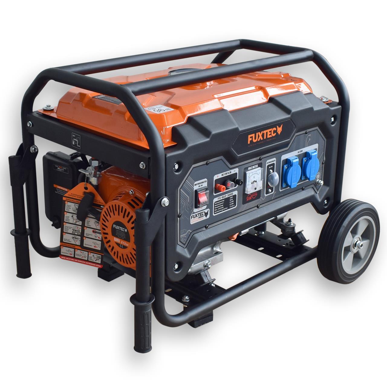 FUXTEC Stromerzeuger SG1-3000 ohne Räder / SG2-3000 mit Räder