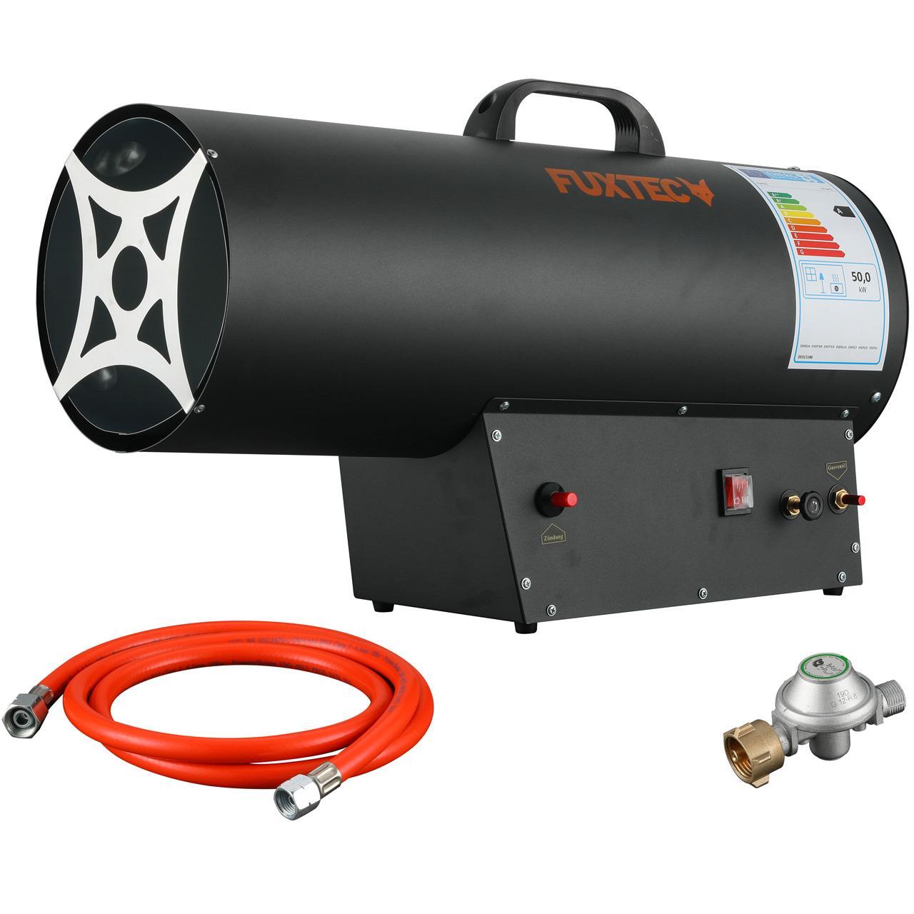 B-Ware FUXTEC Gasheizer GH51 mit 50kW Heizleistung