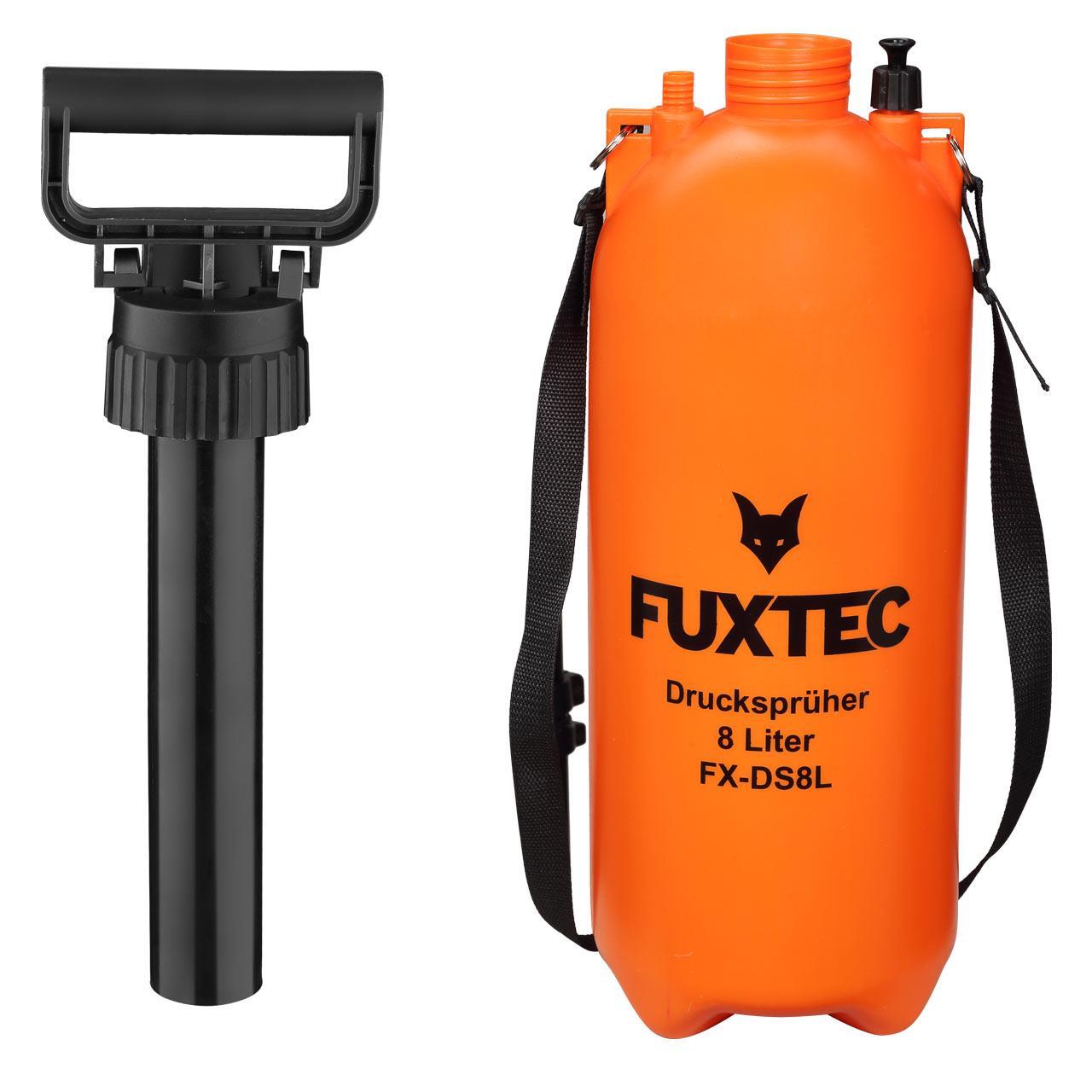 FUXTEC Drucksprüher 8 Liter FX-DS8L
