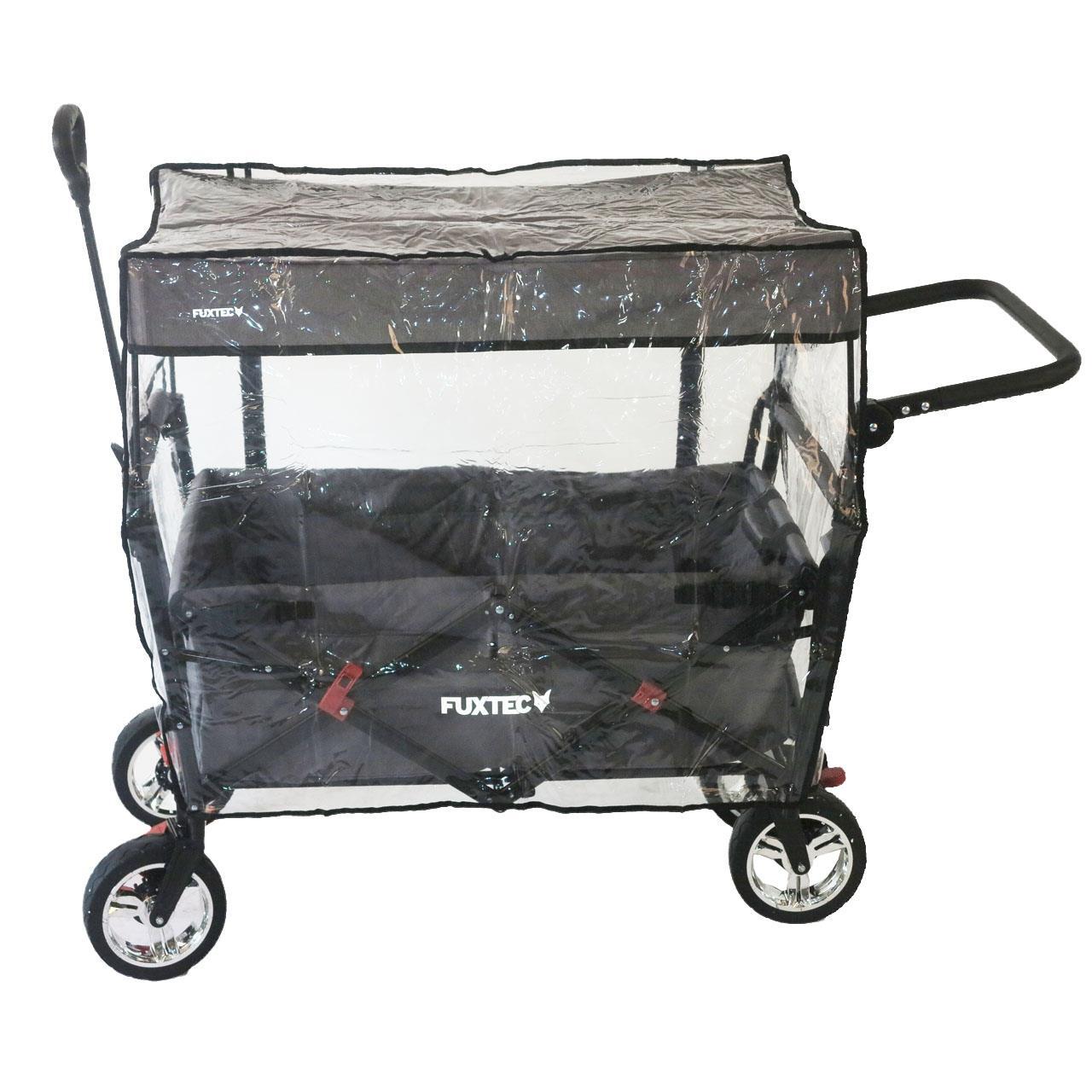Regenschutz transparent für Bollerwagen CT700