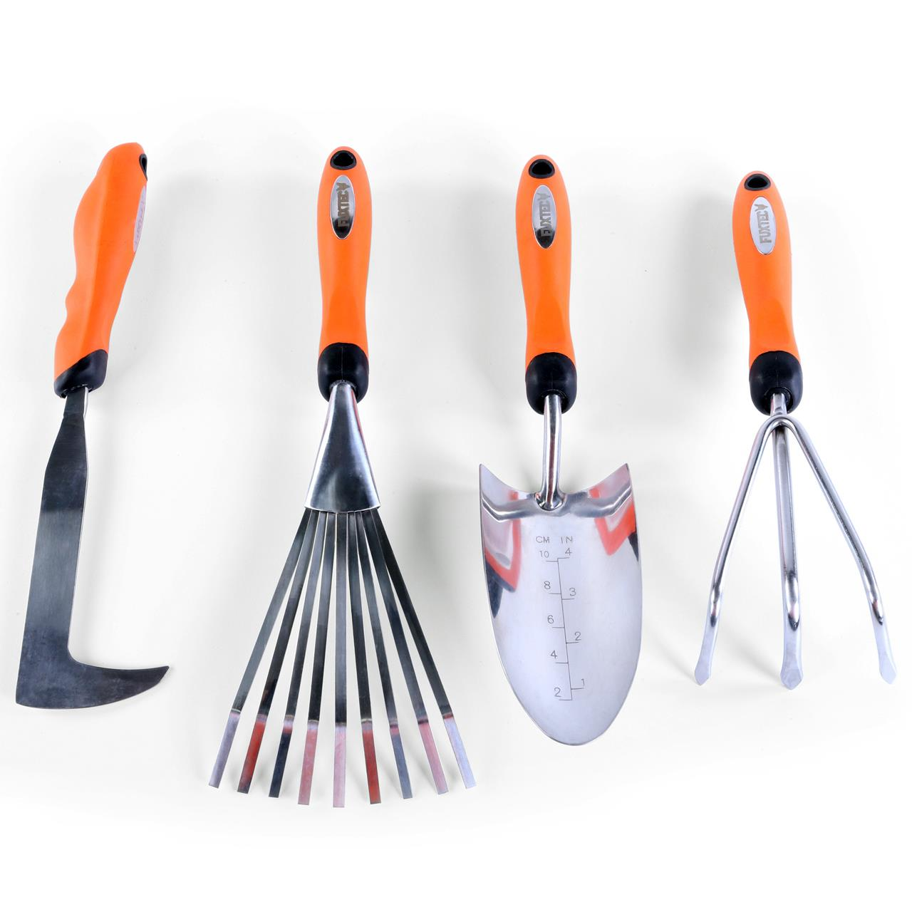 FUXTEC 4er Set Premium Handgartenwerkzeug