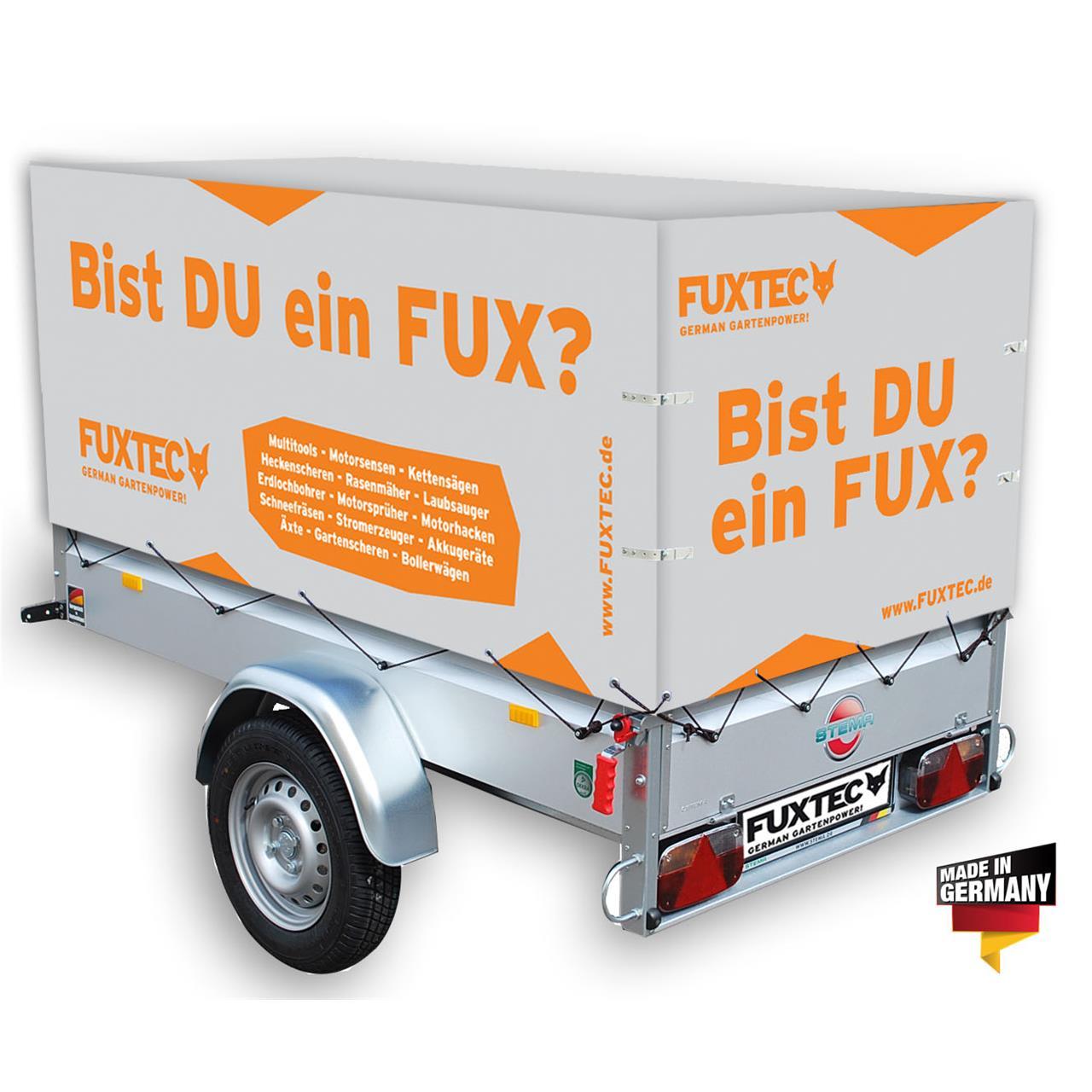 FUXTEC STEMA Hochplane für Anhänger grau orange