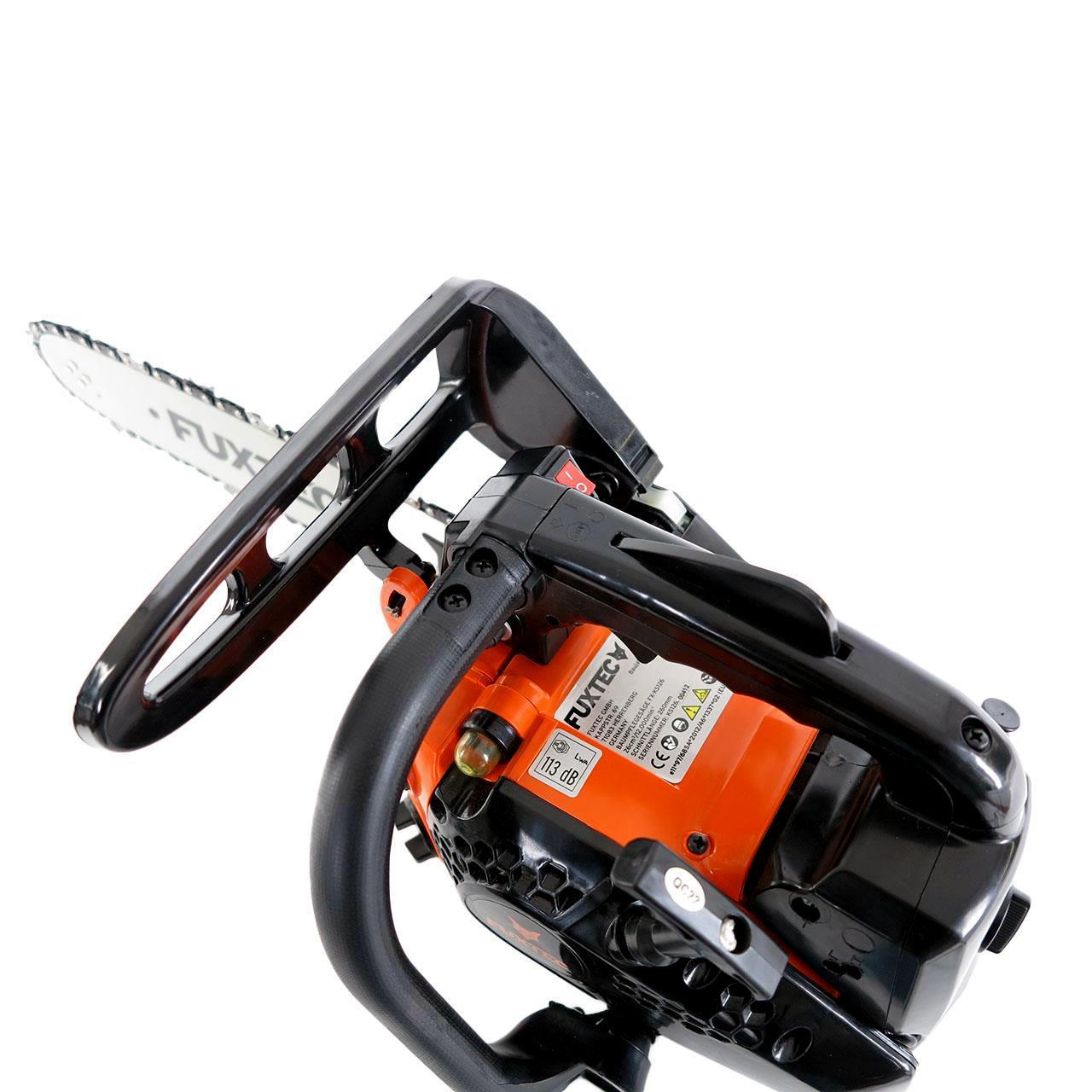 FUXTEC Benzin Baumpflegesäge Kettensäge FX-KS126