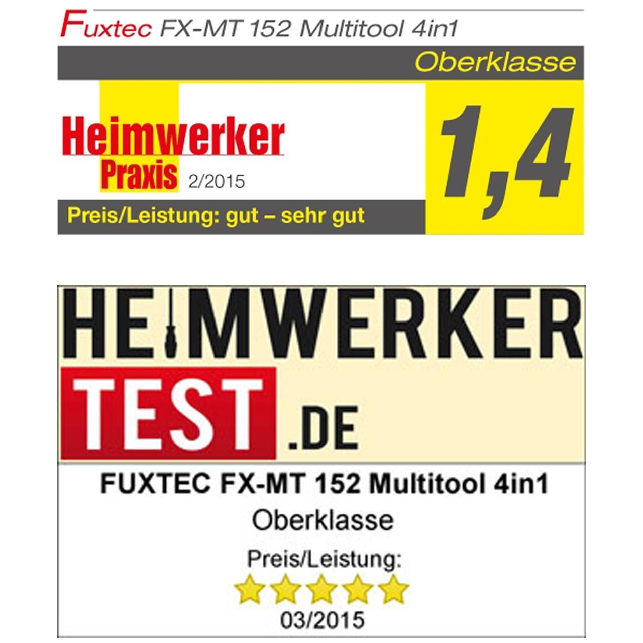 FUXTEC FX-MT152 Multitool 4in1 Benzin Motorsense